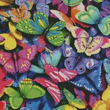 Colorful Butterflies DIY 5D Diamond Painting Cross Stitch