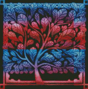 Colorful Tree #2 DIY 5D Diamond Painting Cross Stitch