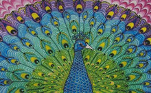 A Peacocks Plume DIY 5D Diamond Painting Cross Stitch