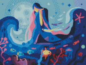 Sea Goddess DIY 5D Diamond Painting Cross Stitch