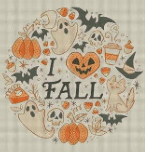 Fall Love DIY 5D Diamond Painting Cross Stitch