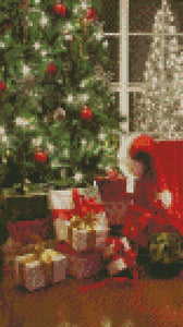 Christmas Comfort DIY 5D Diamond Painting Cross Stitch