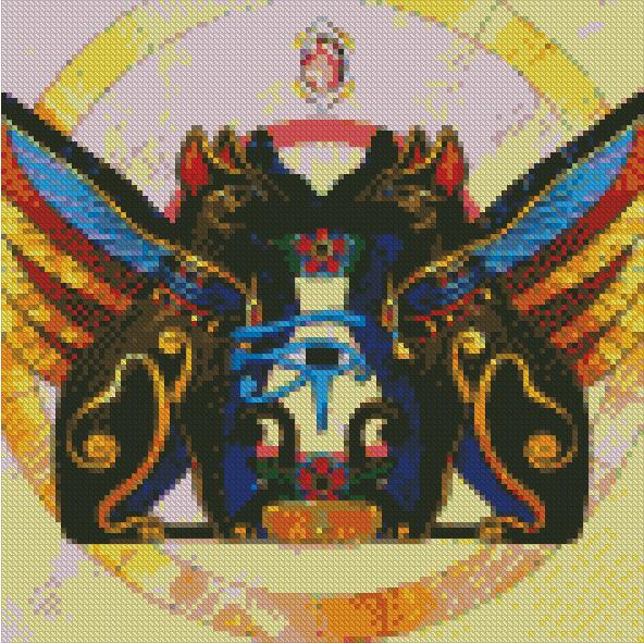 Afterlife Guards DIY 5D Diamond Painting Cross Stitch