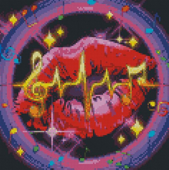 Music DIY 5D Diamond Painting Cross Stitch
