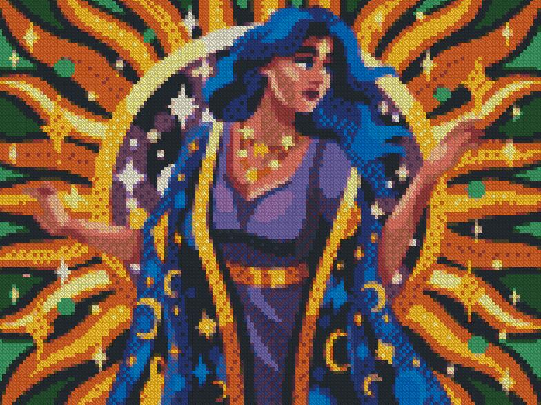 Lady Astro DIY 5D Diamond Painting Cross Stitch