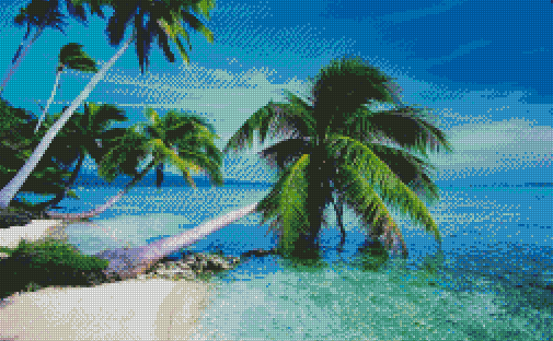 Ocean Breeze DIY 5D Diamond Painting Cross Stitch