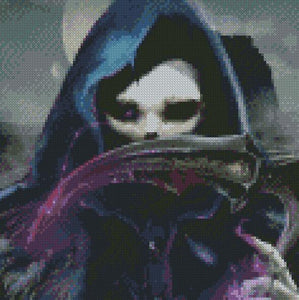 Grim DIY 5D Diamond Painting Cross Stitch
