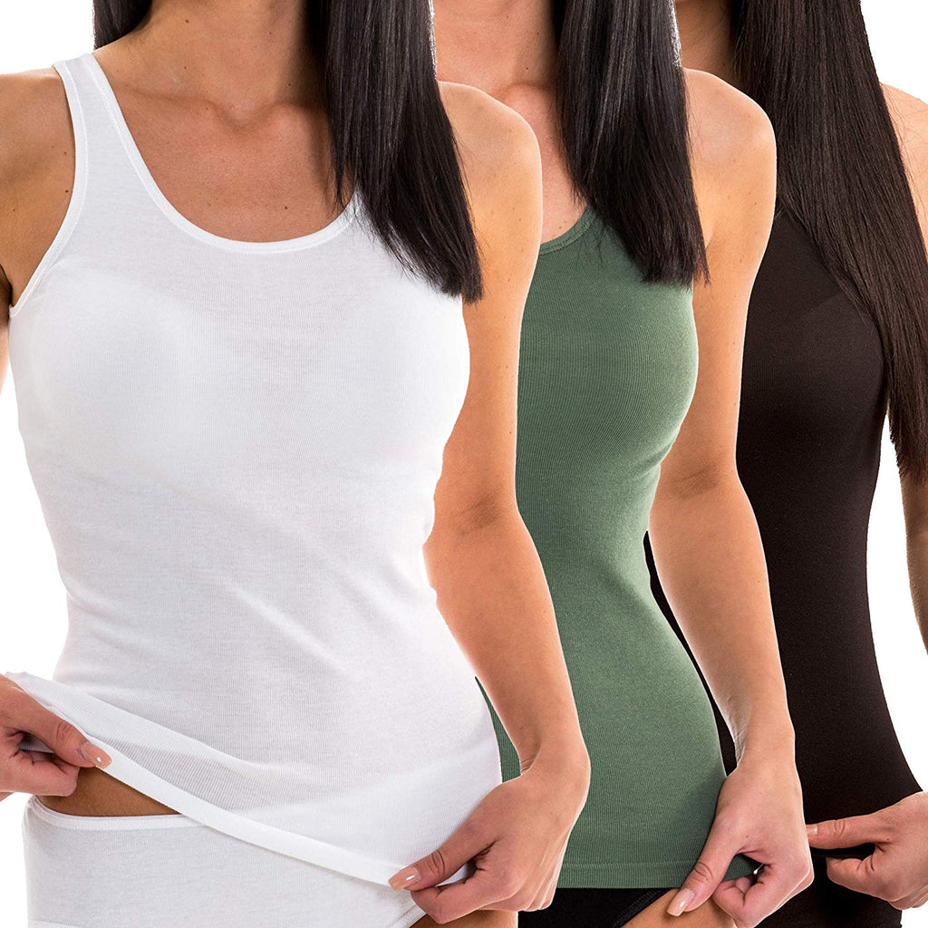 Damen Tank Top - 3er Pack