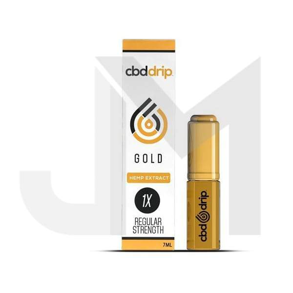 CBD DRIP Gold 7ml - Regular Strength