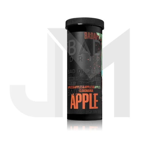 NEW Bad Apple by Bad Drip 0mg 50ml Shortfill (80VG/20PG)