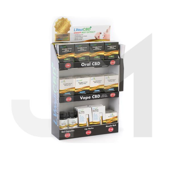 LVWell CBD 26 Piece General CBD Retail Starter Pack