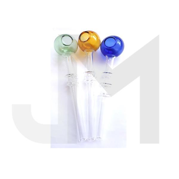 12 x Bubble Top Glass Pipe - 11314 GP110