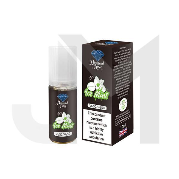 15 x DIAMOND HAZE 12MG 10ML E-LIQUID (50VG/50PG)