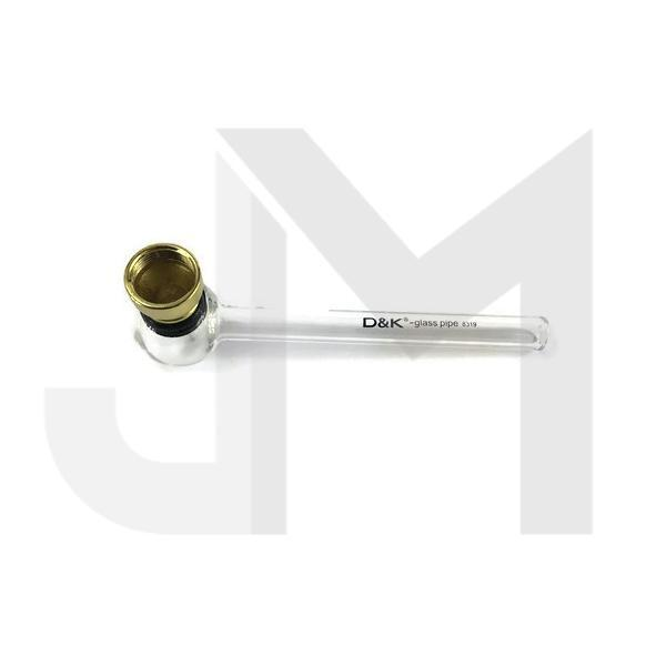 D&K Glass Pipe with Screen - 11CM - 8319