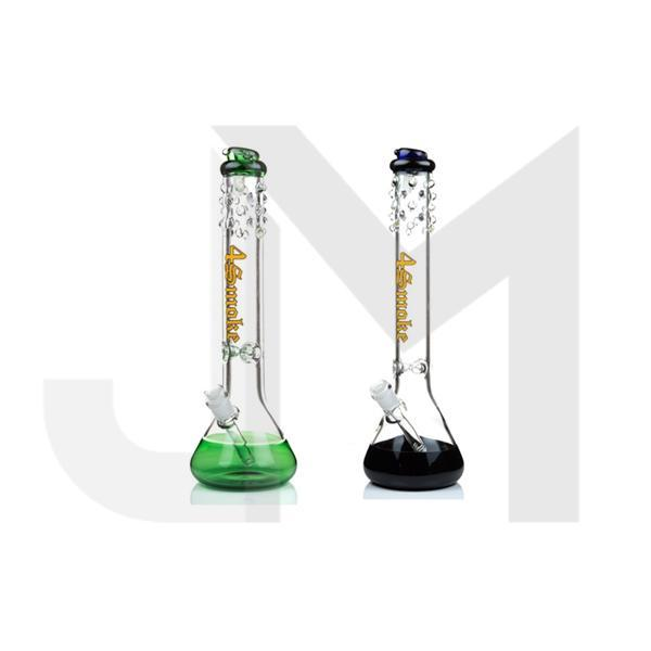 4smoke Bubble Single Percolator Glass Bong - A007