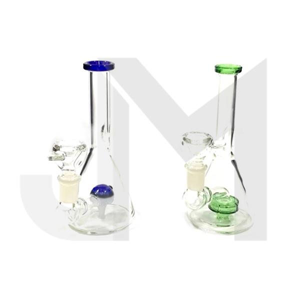 "6 x 7"" Small Glass Bong - N30"