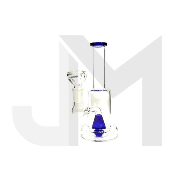 "6 x 7"" Small Glass Percolator Bong - N31"