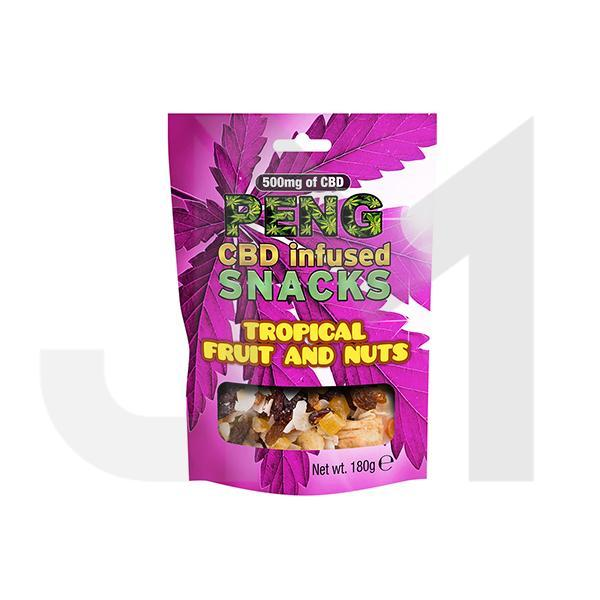 Peng 500mg CBD Infused Snacks - Tropical Fruit & Nuts