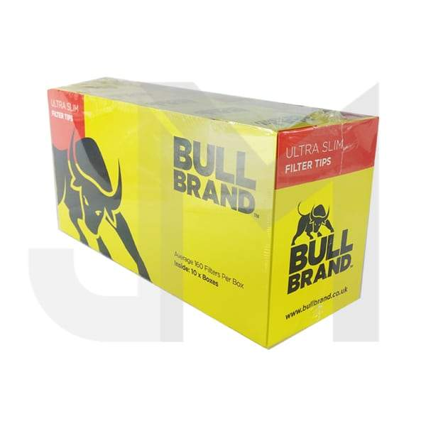 10 Bull Brand Ultra Slim Filter Tip