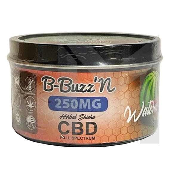 B-Buzz'N Herbal Full Spectrum CBD Herbal Shisha 250mg CBD