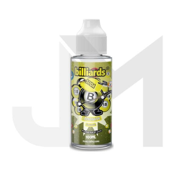 Billiards Soda Range 0mg 100ml Shortfill (70VG/30PG)
