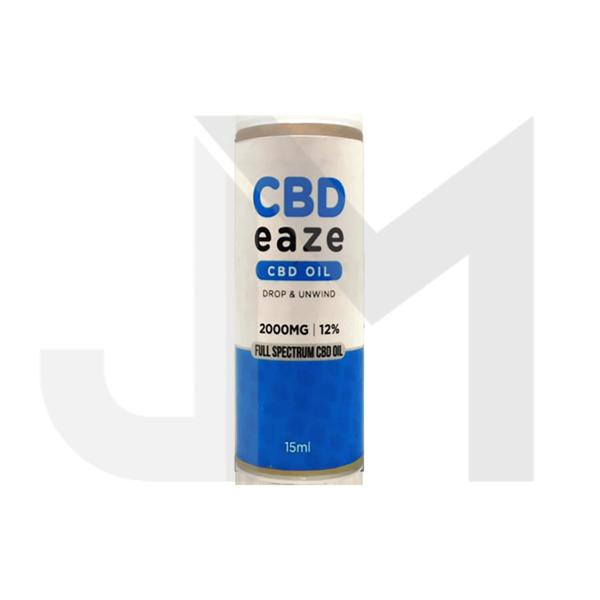 CBD Eaze 2000mg Full Spectrum CBD Oil 15ml