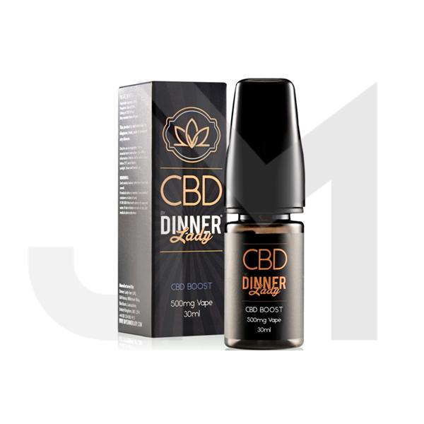 Dinner Lady 1000mg CBD 30ml E-Liquid Boost (70VG/30PG)