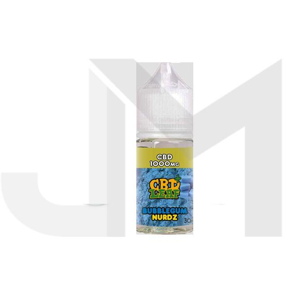 CBD Leaf 500mg 30ml Shortfill E-Liquid (70VG/30PG)