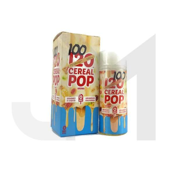 100/120 Cereal Pop by Mad Hatter 100ml shortfill 0mg (70VG/30PG)