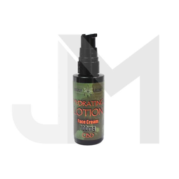 Doctor Green's 100mg CBD Hydrating Lotion Face Cream 50ml