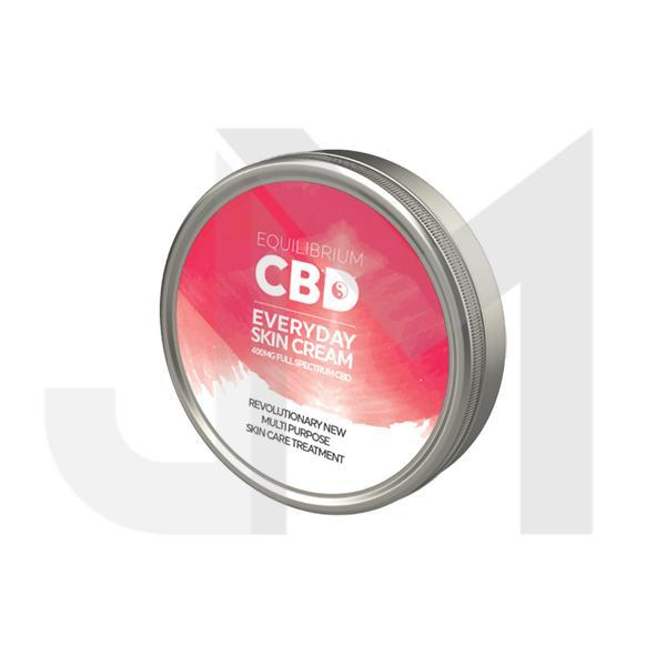 Equilibrium CBD Deep Nourishing Skin Cream 400mg 100ml