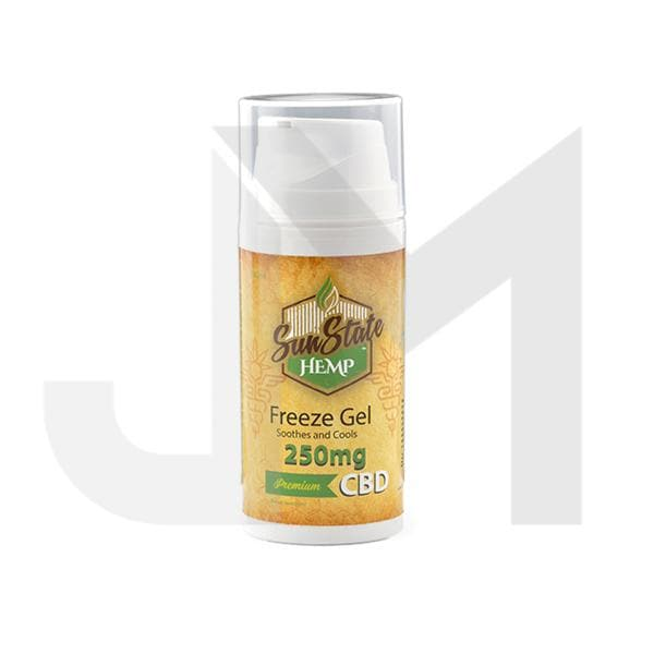 Sun State Hemp 250mg CBD Freeze Gel 100ml