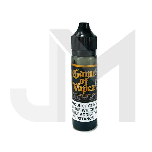 Game of Vapez 0mg 50ml Shortfill (70VG/30PG)