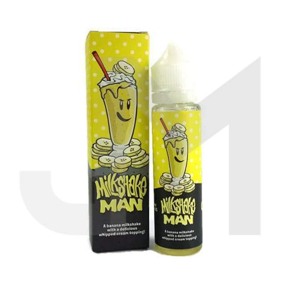 Milkshake Man By Marina Vapes 0mg 60ml Shortfill