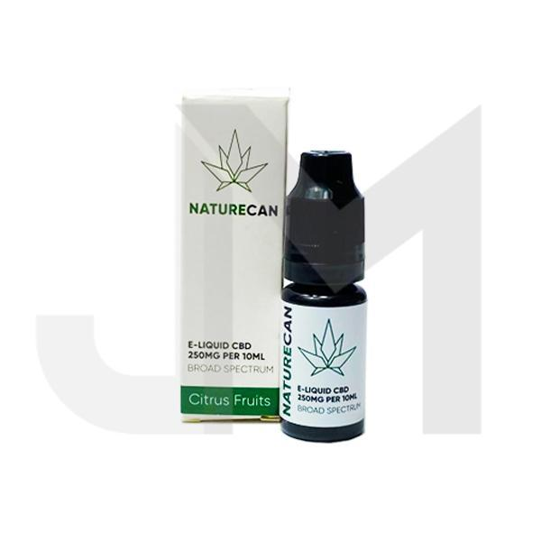 Naturecan 250mg CBD E-Liquid 10ml (80VG/20PG)