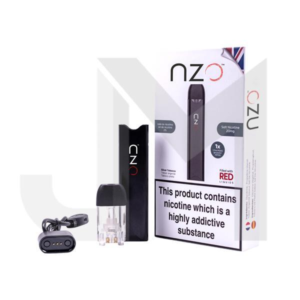 NZO Kit with Red Liquids Flavoured Nic Salt Pod