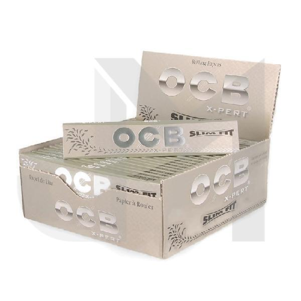 50 OCB Xpert Silver King Size Slimfit Papers