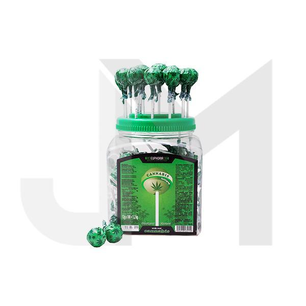 Euphoria Cannabis Lollipops 12g x 100pcs (Approx)