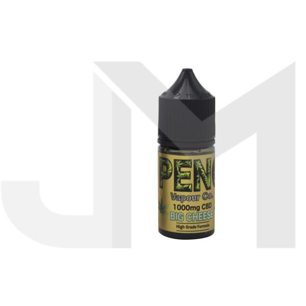 Peng Vapour Co. 1000mg CBD  30ml Shortfill (60VG/40PG)