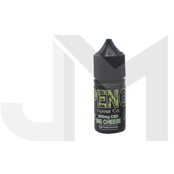 Peng Vapour Co. 300mg CBD 30ml Shortfill (60VG/40PG)