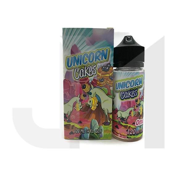 Unicorn Cakes 100ml Shortfill 0mg (70VG/30PG)
