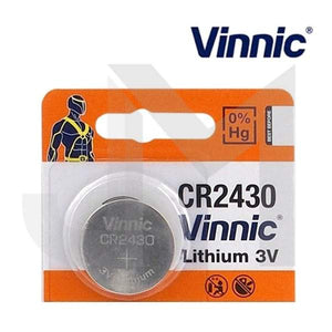 Vinnic CR2430 3V Battery