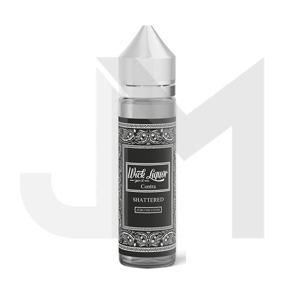 Wick Liquor Shattered 0mg 50ml Shortfill (80VG/20PG)