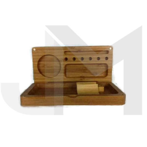 Magnetic Wooden rolling & Storage Box