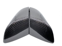 Tesla Model 3 Carbon Fiber Mirror Cover Caps - Perfect Fitment Easy Install