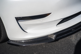 Tesla Model 3 Carbon Fiber Front Splitter Lip