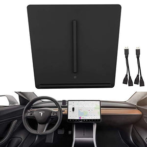 Tesla Model 3 Dual Wireless Fast Charger Center Console for iPhone or Android