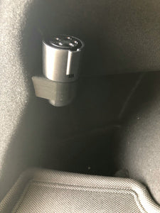 AY Customs Tesla Model 3 Charging Charger Adapter J1772 Holder in Trunk - Check Left Side of Inner Trunk for Plastic Clip Prior to Purchasing