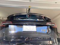 Tesla Model 3 & Model Y Performance Style Real Carbon Fiber Trunk Spoiler Wing Deck Lip Easy Install