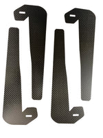 Tesla Model 3 Real Carbon Fiber Mud Flaps - Set of 4